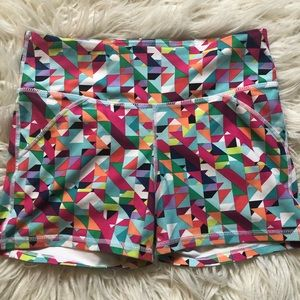 Fabletics high waisted solid power hold shorts